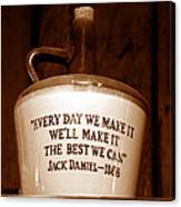 The Old Jug Canvas Print