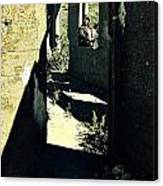 The Old Leper's Laundry Canvas Print