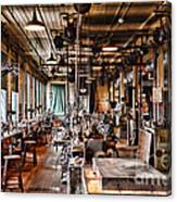 The Old Machine Shop Canvas Print