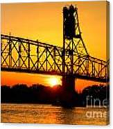 The Old Mighty Span Canvas Print