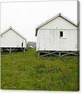 The Old Pierce Point Ranch At Foggy Point Reyes California 5d28140 Canvas Print