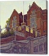 The Old Schools, Harrow Oil On Canvas Canvas Print