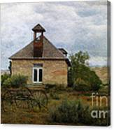 The Old Shell Schoolhouse Canvas Print