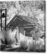 The Old Spring House Canvas Print