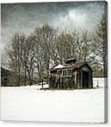 The Old Sugar Shack Canvas Print