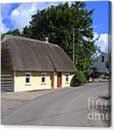 The Old Thatched Cottage Canvas Print