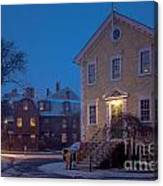 The Old Town House Canvas Print