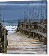 The Old Walkway Canvas Print