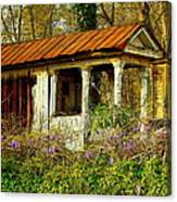 The Old Well House Canvas Print