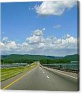 The Open Highway Canvas Print