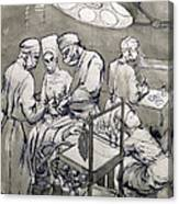 The Operation Theatre, 1966 Canvas Print