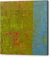 The Orange Wedge Canvas Print