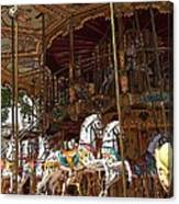 The Original French Carousel Canvas Print