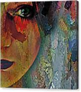 The Other Left Abstract Portrait Canvas Print