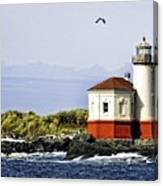 The Other Side Of The Coquille River Canvas Print