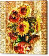 The Other Sunflowers Canvas Print