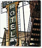 The Otis Hotel Canvas Print
