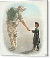 The Outcome Of War Is In Our Hands Canvas Print
