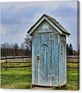 The Outhouse - 4 Canvas Print