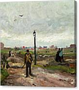The Outskirts Of Paris Canvas Print