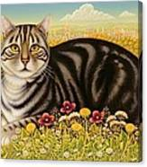 The Oxford Cat Canvas Print