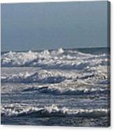 The Pacific Ocean Near Oceanside Ca Canvas Print