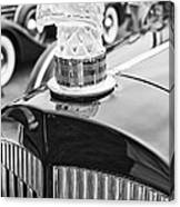 The Packard Eagle Hood Ornament At The Concours D Elegance. Canvas Print
