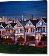 The Painted Ladies Of San Francsico Canvas Print