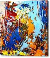 The Painting Has A Life Of Its Own. I Try To Let It Come Through. Jackson Pollock   Canvas Print