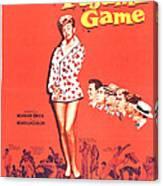The Pajama Game, Us Poster, Doris Day Canvas Print