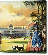 The Palace Of The Tuileries Canvas Print