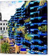 The Pallet Pavellion Canvas Print