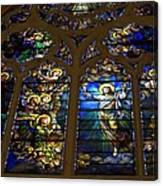 The Panes Of Love Canvas Print