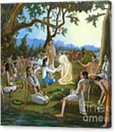 The Panihati Festival Canvas Print