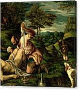 The Parable Of The Good Samaritan Canvas Print