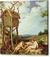 The Parable Of The Wheat And The Tares Canvas Print