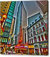 The Paramount Center And Opera House In Boston Canvas Print