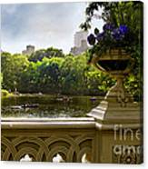 The Park On A Sunday Afternoon Canvas Print