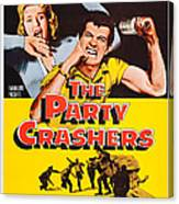 The Party Crashers, Connie Stevens Canvas Print