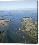 The Passage In The Gulf Of Morbihan Canvas Print