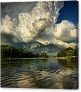 The Passing Storm Canvas Print