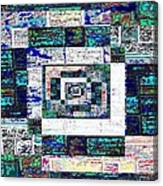The Patchwork Canvas Print
