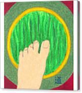 The Path - Mudra Mandala Canvas Print