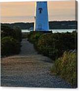 The Path To The Lighthouse Canvas Print