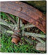 The Patina Of Time Canvas Print