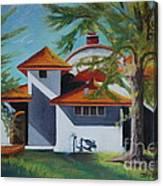 The Pavilion Canvas Print