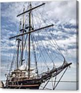The Peacemaker Tall Ship Canvas Print