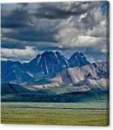 The Peaks Canvas Print