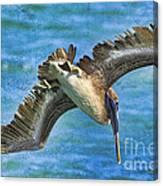 The Peli Dive Canvas Print