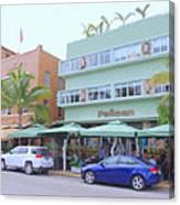 The Pelican Hotel Canvas Print